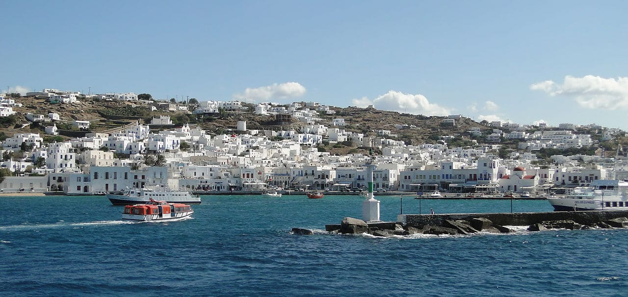 Mykonos Greece Summer Vacation