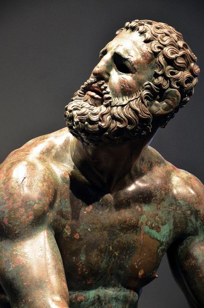 ancient greek boxer