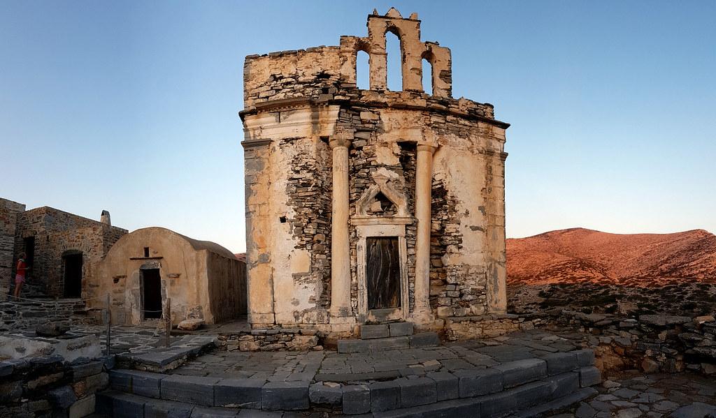 Ancient site of Episkopi, Sikinos, Greece