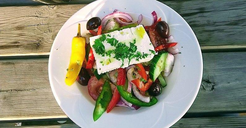Greek food healthy mediterranean diet
