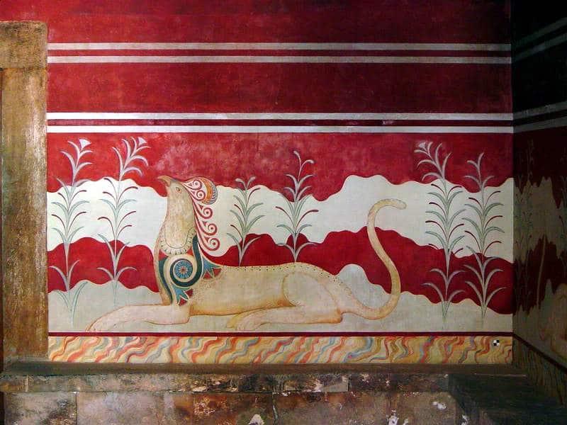 fresco minoan