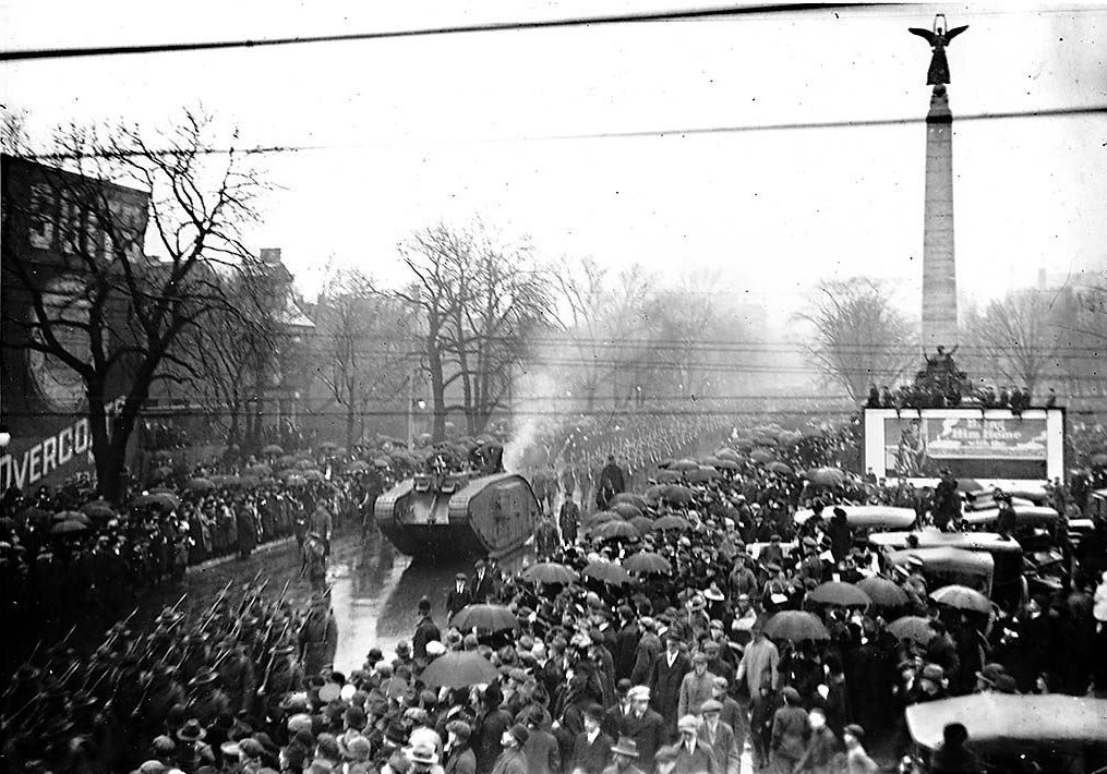 Anti Greek Riot Toronto 1918
