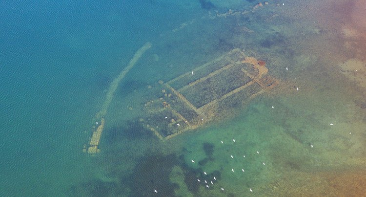 Ancient Church Discovered Under Turkish Lake: St. Neophytos Basilica
