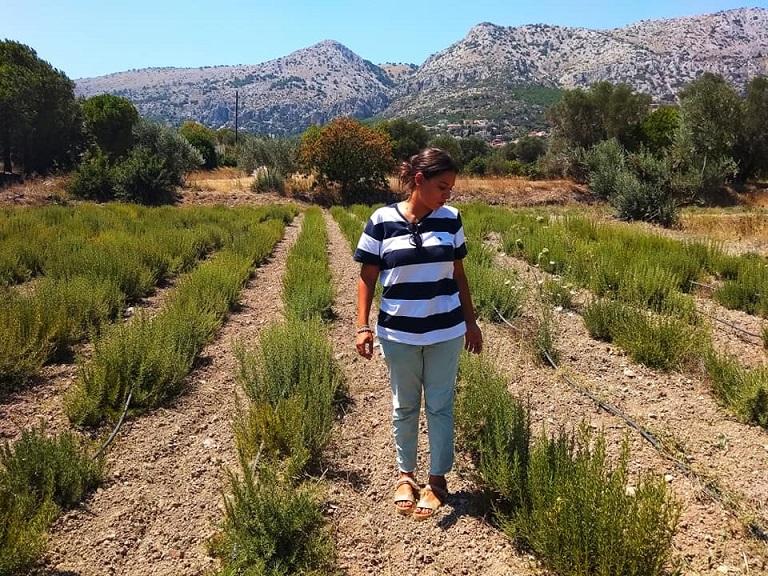 Woman farmer Greece