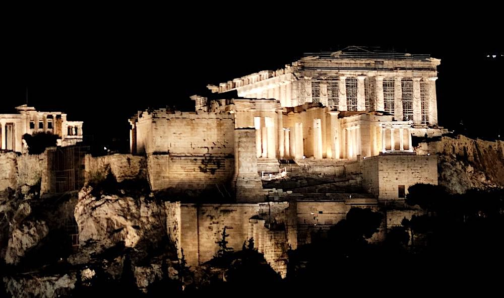 acropolis lighting