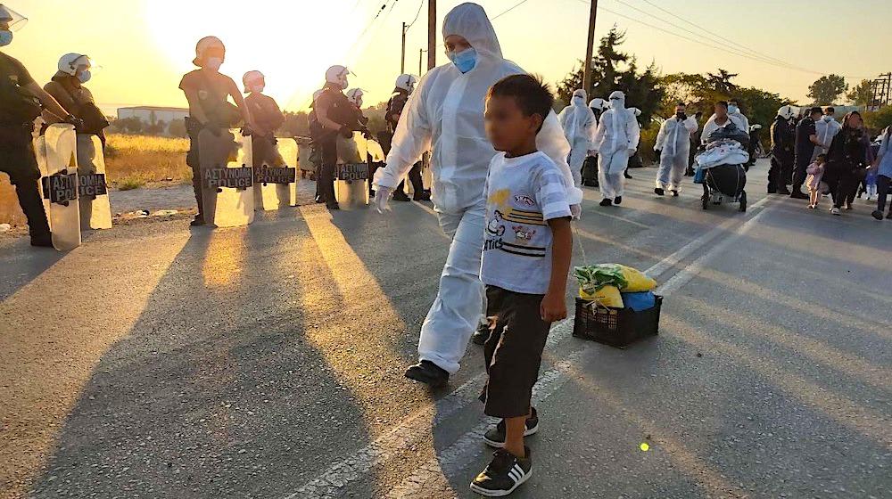 Migrant crossings