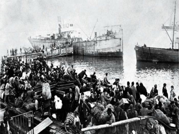 Refugees Smyrna
