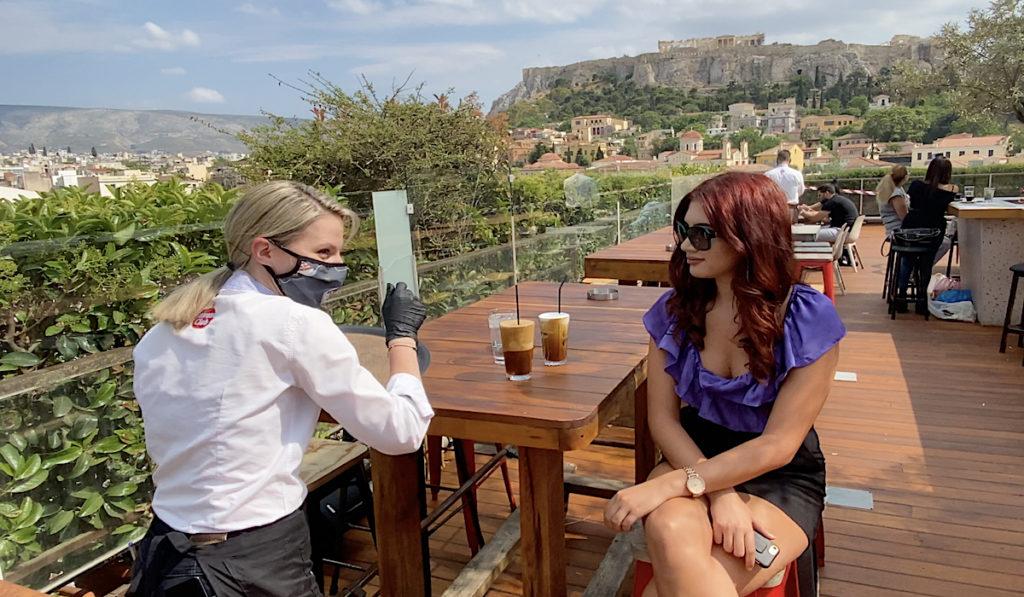 Greece coronavirus restrictions restaurants