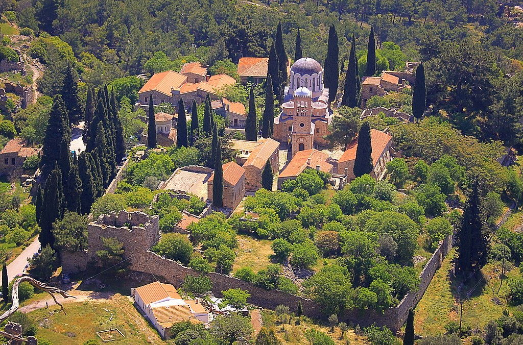 Nea Moni Monastery site