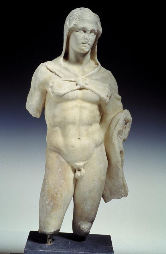 Ancient Treasure Under Athens aeolus street