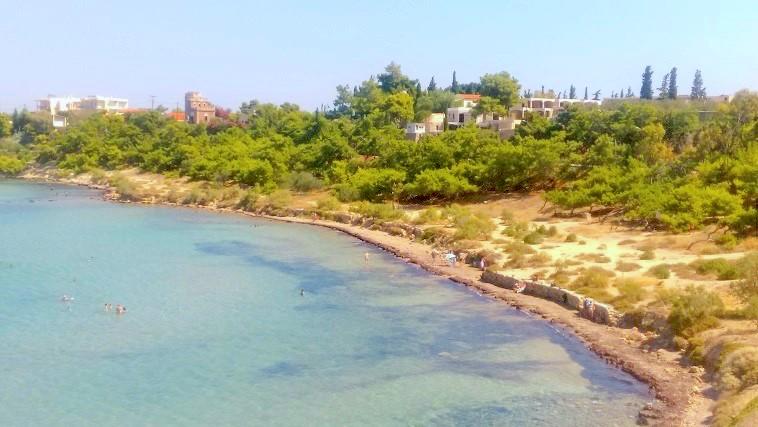 Παραλία αρχαίων ερειπίων
