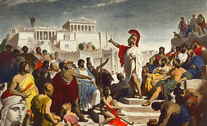 ancient greeks in athens