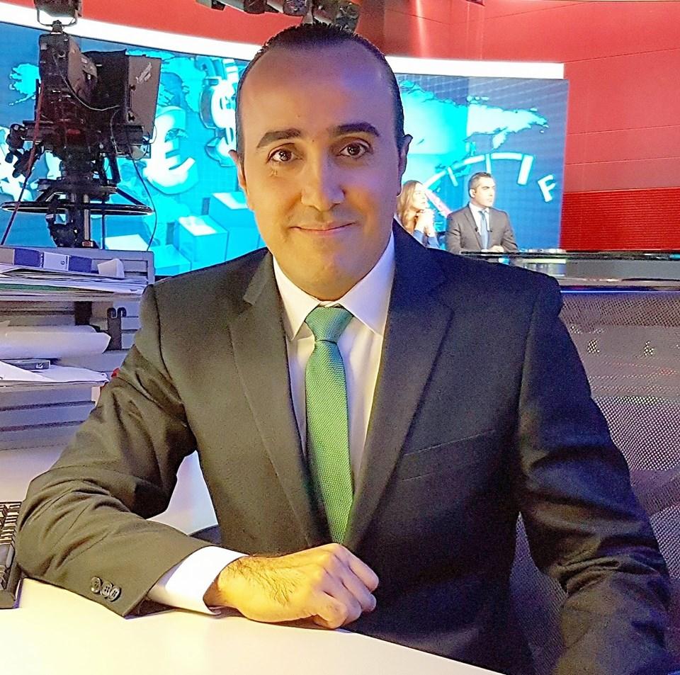 George Eid, greek journalist in Lebanon