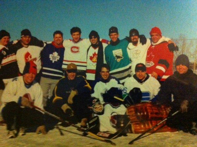 Greek Canadian hockey