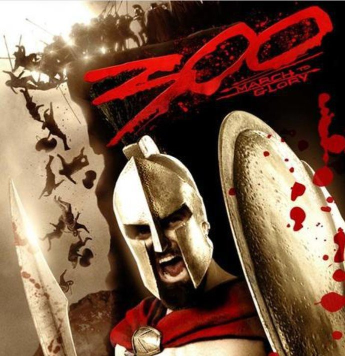 Scene of the ''300: March to Glory'' video game