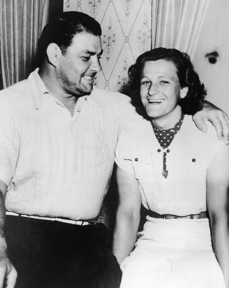George Zaharias and Babe Didrikson