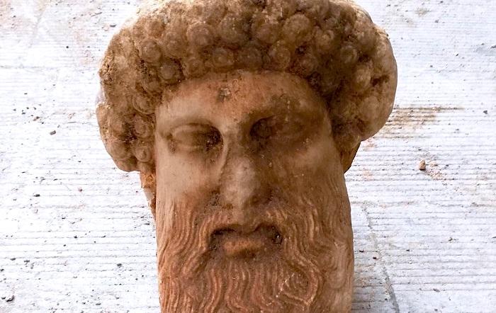 Head of Hermes greek discover