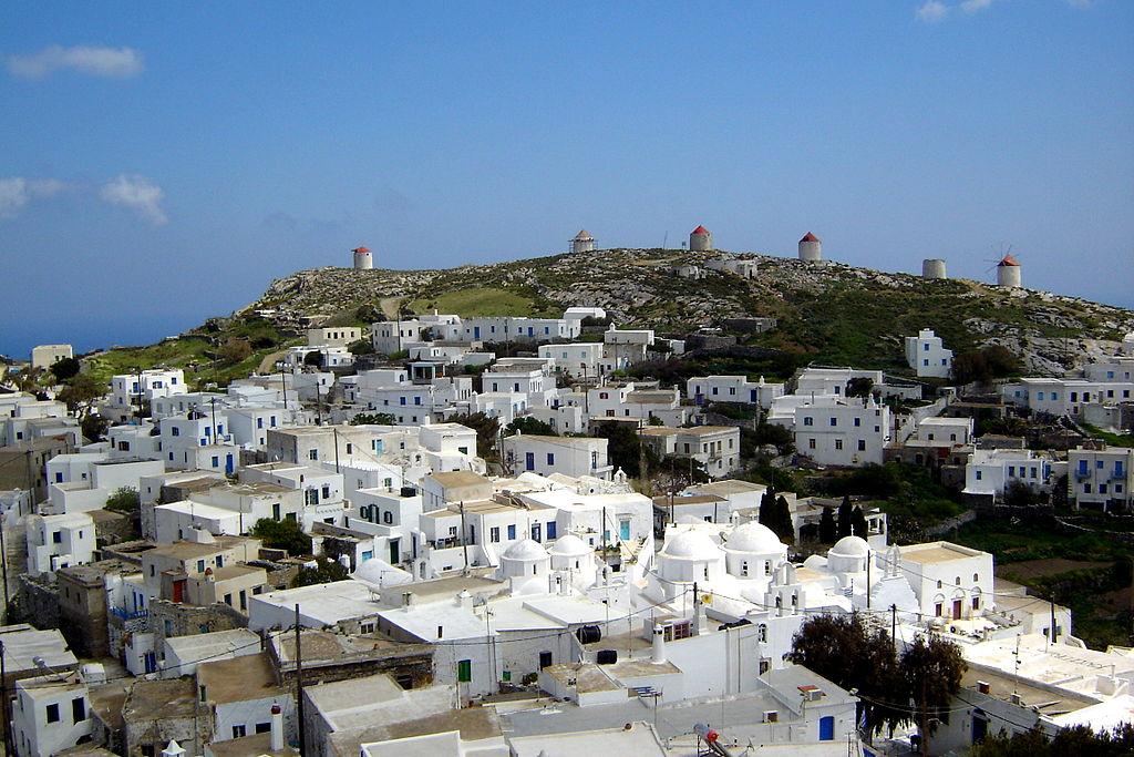 Greek islands homes in Amorgos