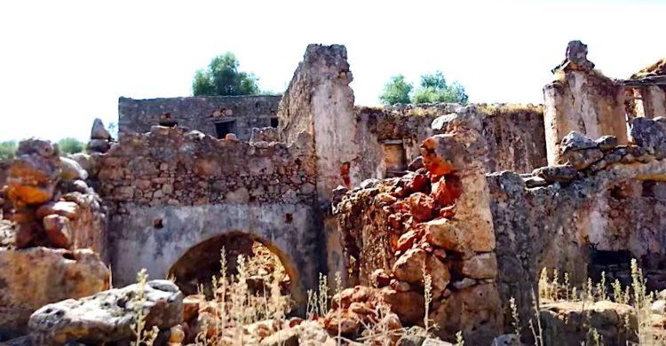 Crete's ghost village