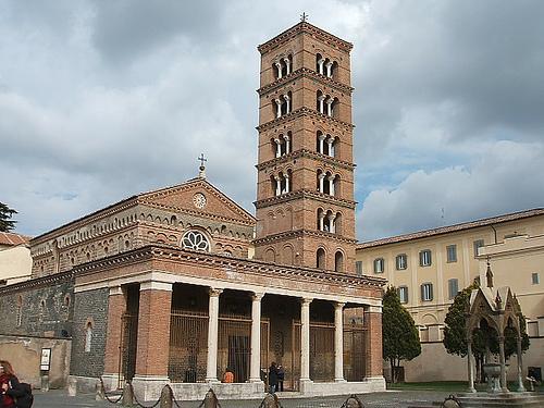 Greek monastery Italy