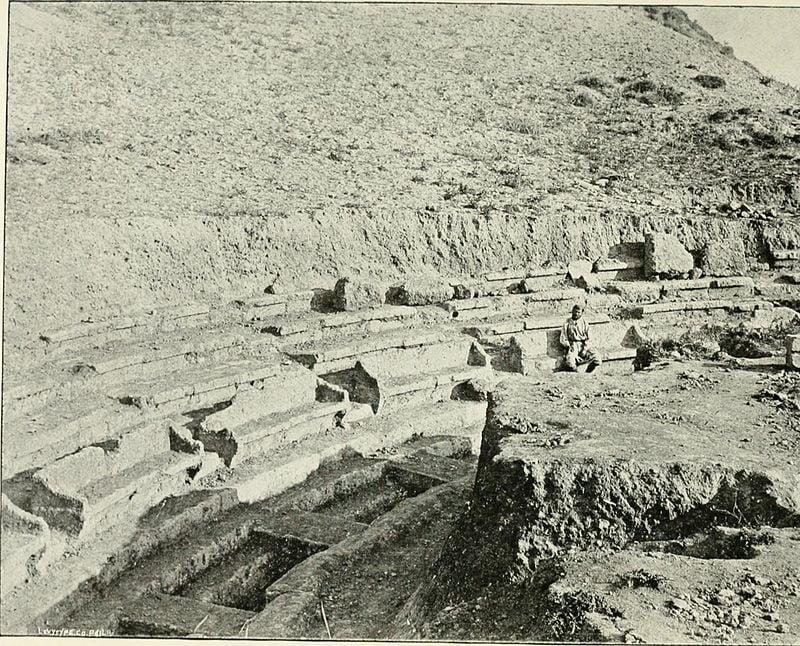 Ανασκαφές του Θεάτρου Θεάτρου Αθηνών