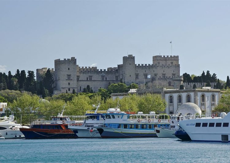 The Greek island of Rhodes was jolted by an earthquake