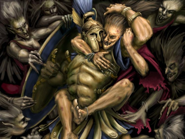 One of the loading pictures of the ''Zeus: Master of Olympus'' video game.