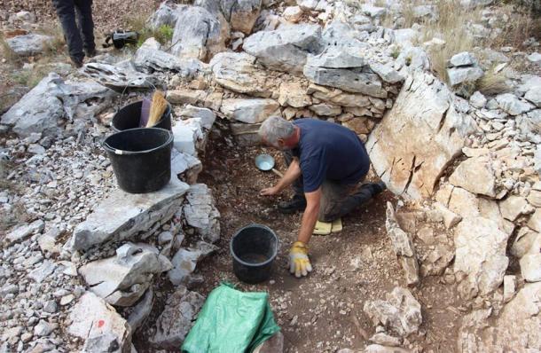 Археологи, работающие в Хорватии
