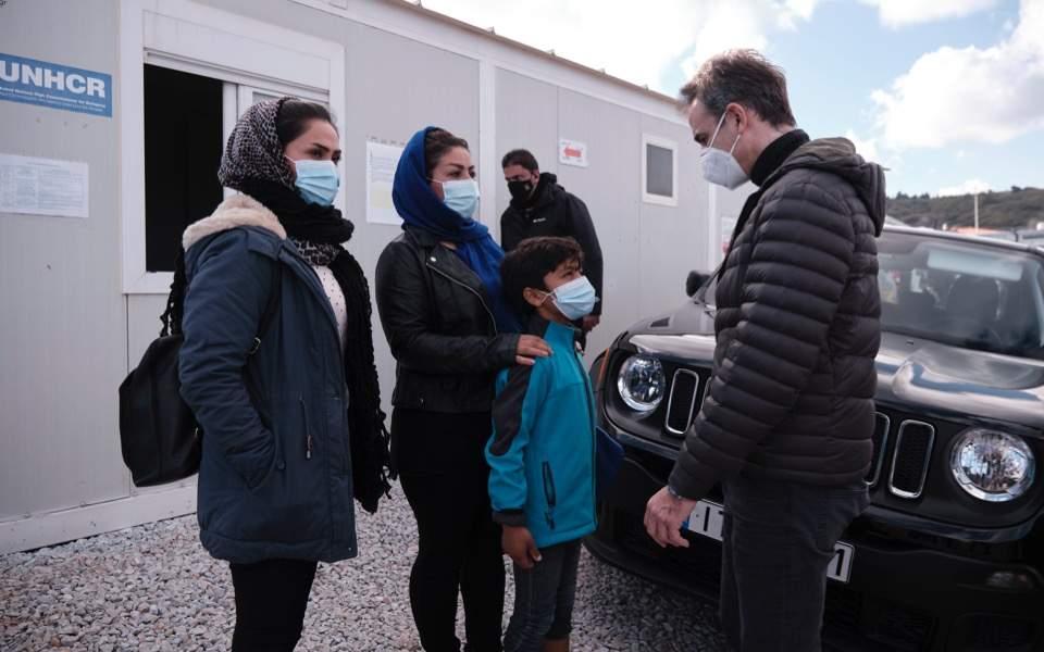 Migrant center Lesvos