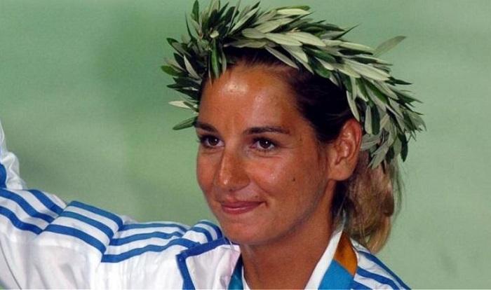 Greek Olympian Sofia Bekatorou