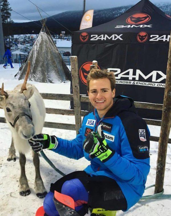 Greek-American skier