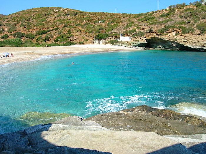 Greece Andros island