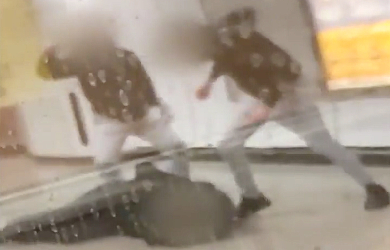 Two Youths Arrested for Beating Metro Station Manager