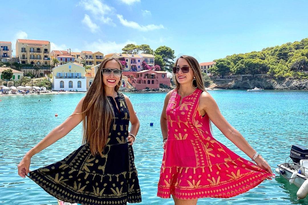 The Greek Twins Marianna and Sophia Erotokritou