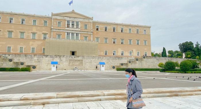 Covid cases in Greece
