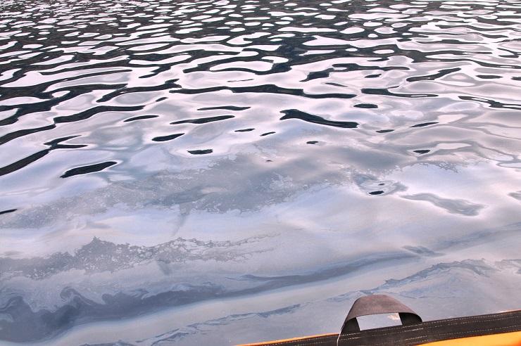 Santorini shipwreck