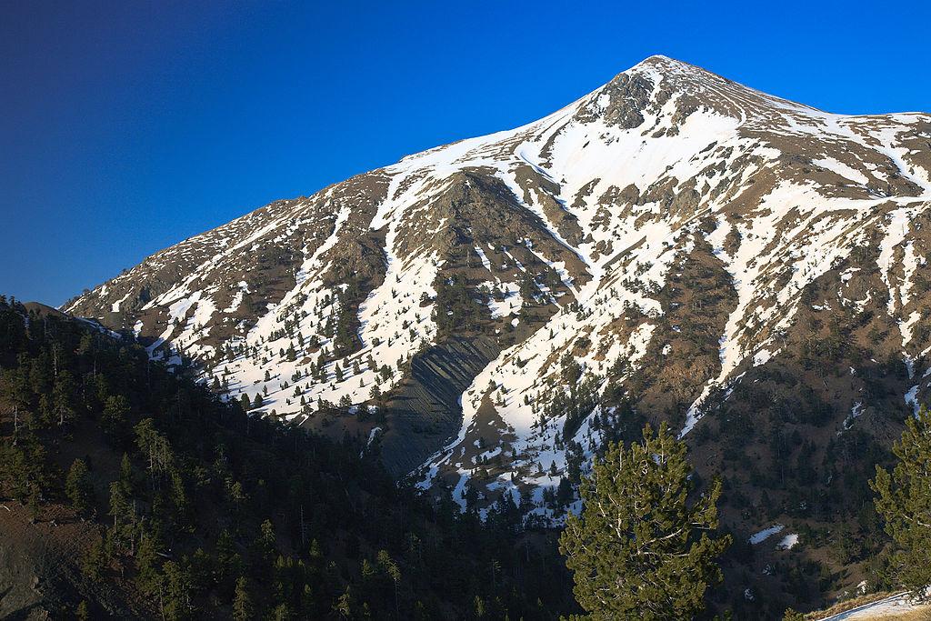 Mt Smolikas greek mountain