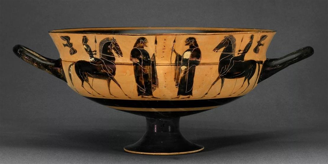 Looted Greek Vase