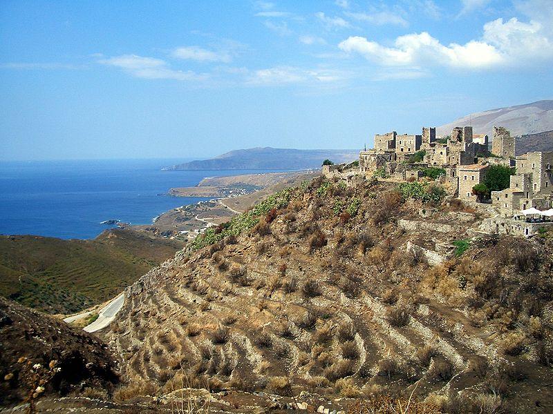 Greek village boasting descendents of Sparta