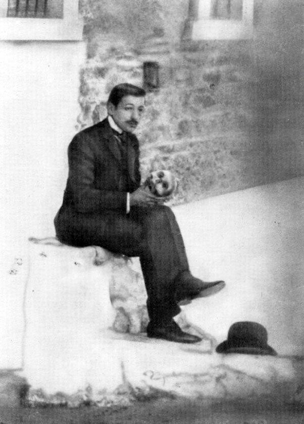 An early photograph of Georgios Papanikolaou