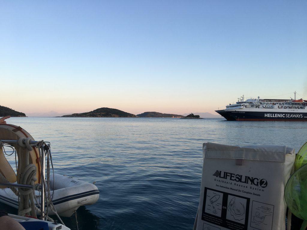 Greece-Cyprus Ferry