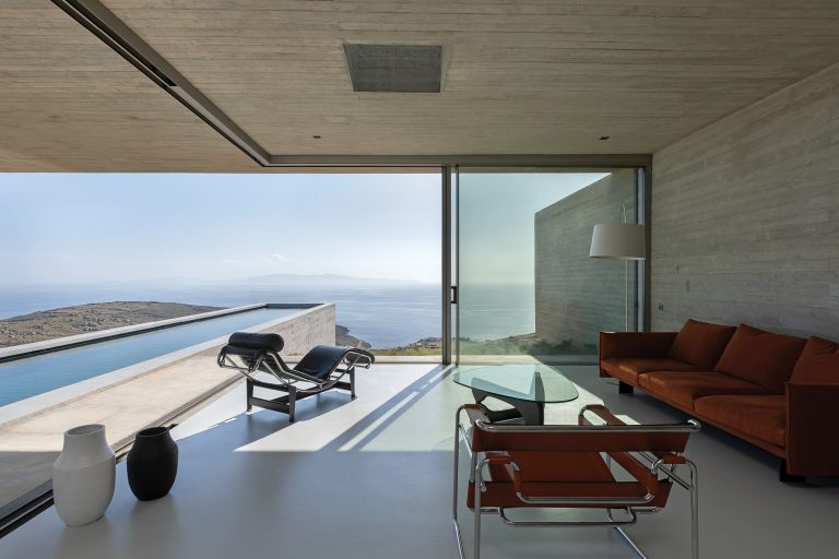 Spectacular Modern Greek House Nominated for EU Award