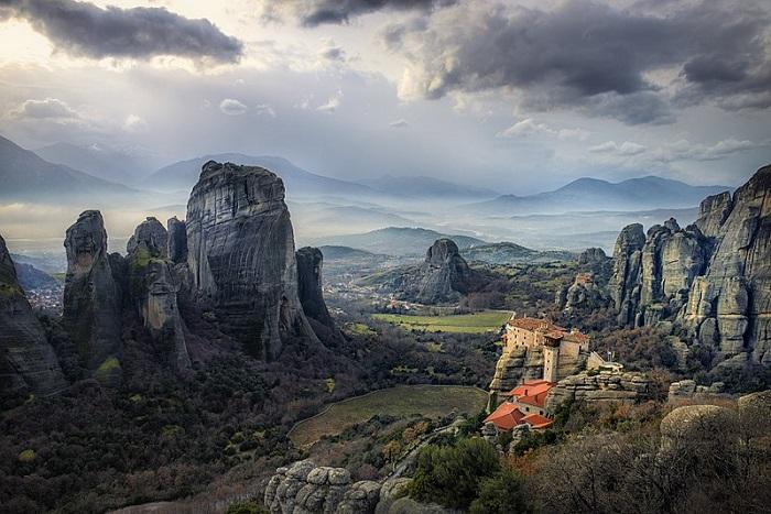 Μετέωρα, ηπειρωτική Ελλάδα