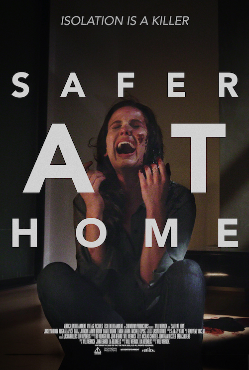"""Movie poster for """"Safer at Home"""""""