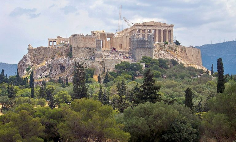 The Oldest Photograph Ever to Be Taken of the Acropolis