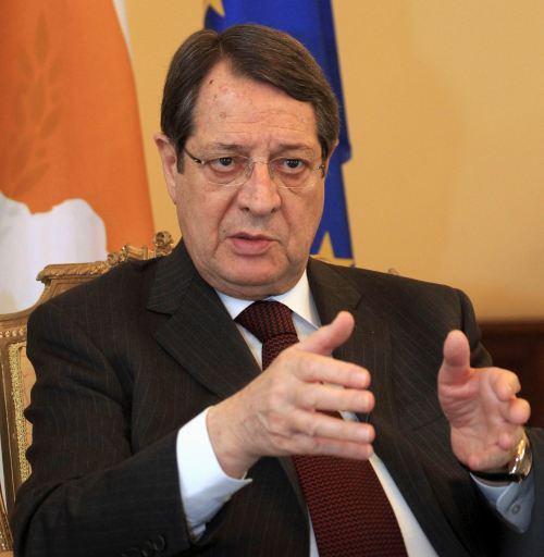 Republic of Cyprus President Nicos Anastasiades