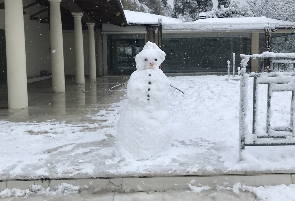Snowman Athens