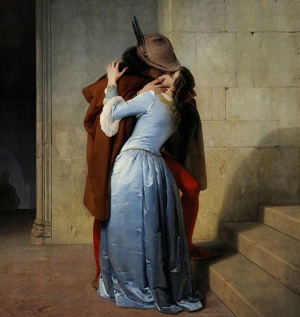 the kiss hayez