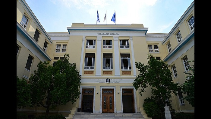 Police in Greek universities