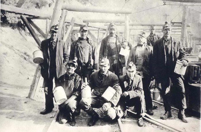 Greek Miners, Utah, early 1900s